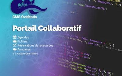 Ovidentia – Plateforme collaborative – Site internet