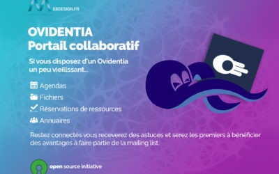 Ovidentia – Plateforme collaborative – Site internet