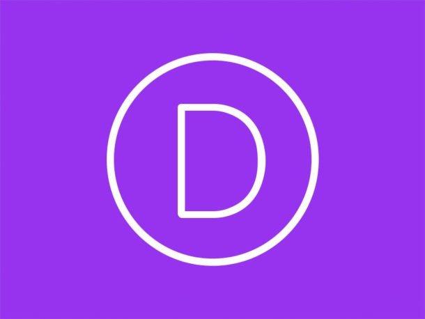Logo Divi d'Elegant themes
